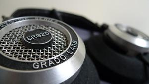 The amazing SR325is headphones by Grado!