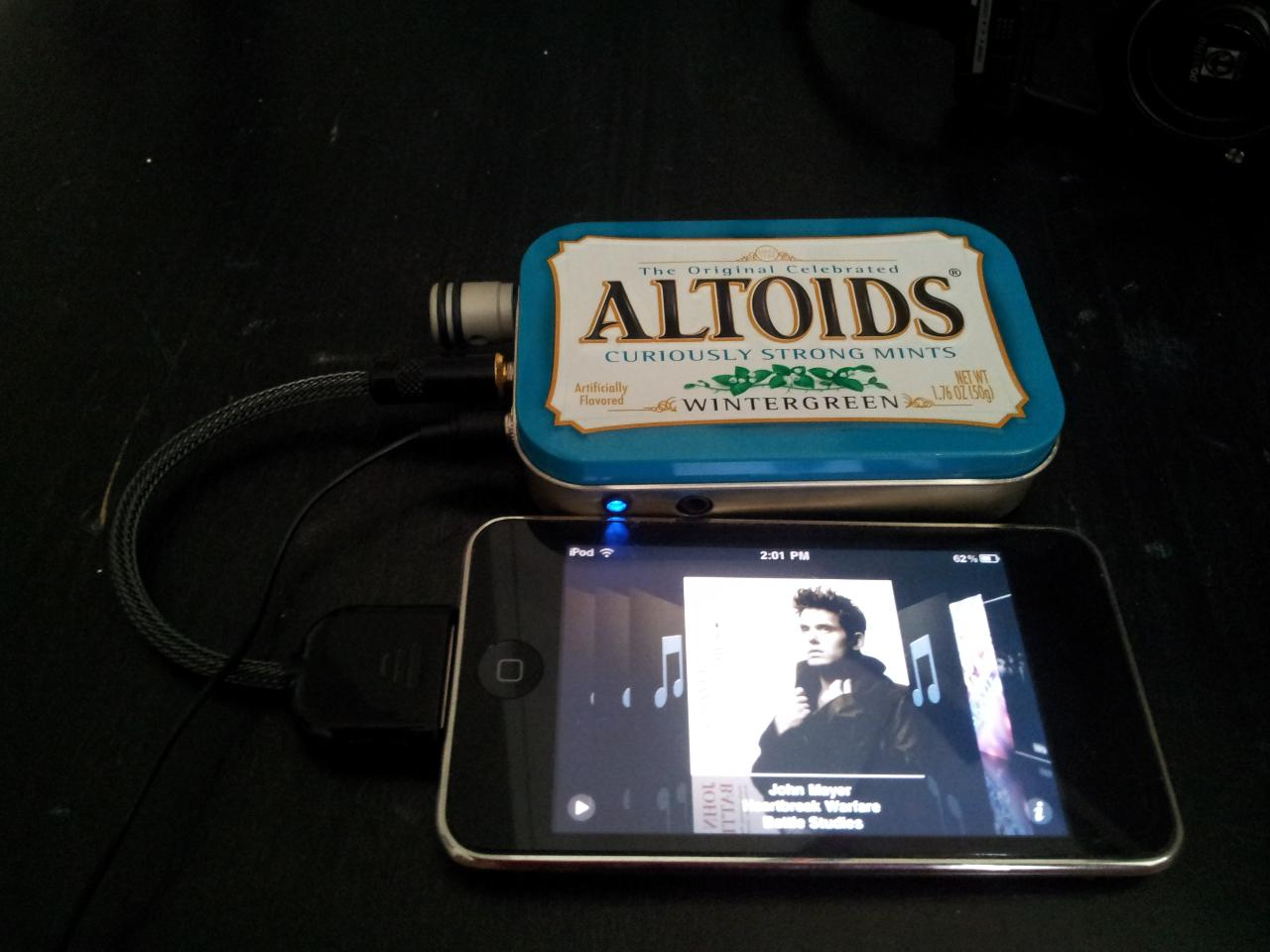 cMoy 2.03 + Ipod Touch with LOD