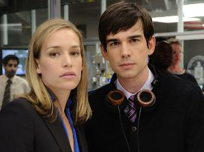 Auggie from Covert Affairs with Grado SR-2