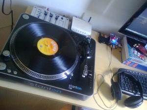 Stanton T.52, awesome turntable (: