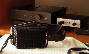Stax SR-202 and LF Audio Upgrade DAC II