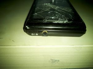 My Droid 1 after boatload of abuse.