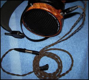 2nd cable ever terminates to male mini xlr, adaptor to balanced RSA style connector 26awg...