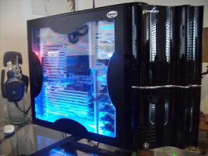 My PC Thermaltake Sopranors Case Corsair TX650W PSU Gigabyte GA-X58A-UD3R X58 1366 Motherboard...