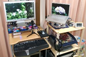 My computer (or if you want to think of it that way, headphone) rig in 2007 before I joined Head-Fi.