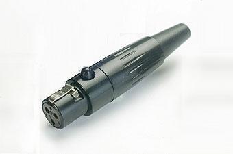 Mini XLR Conector /TQ-FL, from www.soundplugtw.com