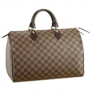Louis Vuitton Damier Azur Speedy 30 Ebony N41531
