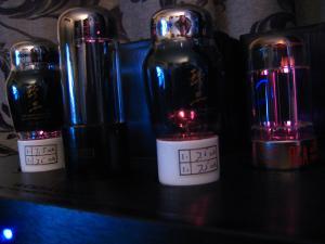 WA22 tube glow