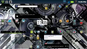 """Smartphone """"desktop"""""""