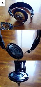 Right speaker missing :( Needs jack / rewire Needs earpads Elastics broken