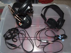 Fostex T50RP and Yamaha HP1