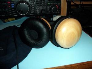 Targus AEH02AP Wood Headphones.