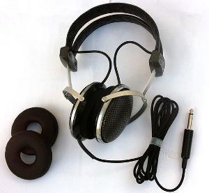 Kenwood HS-5 communications headphones.