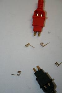 Gold cardas HPSC connectors