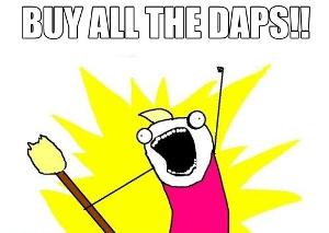 Buy all the DAPS