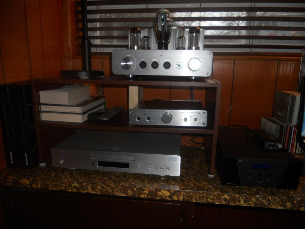 Setup as of 26 - 1 - 2012