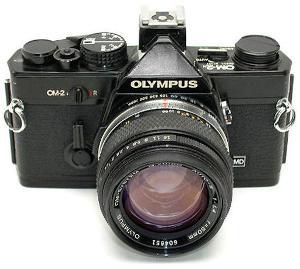 Olympus OM2N SLR.