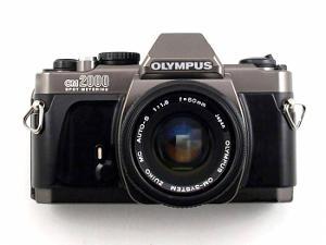 Olympus OM-2000 SLR.
