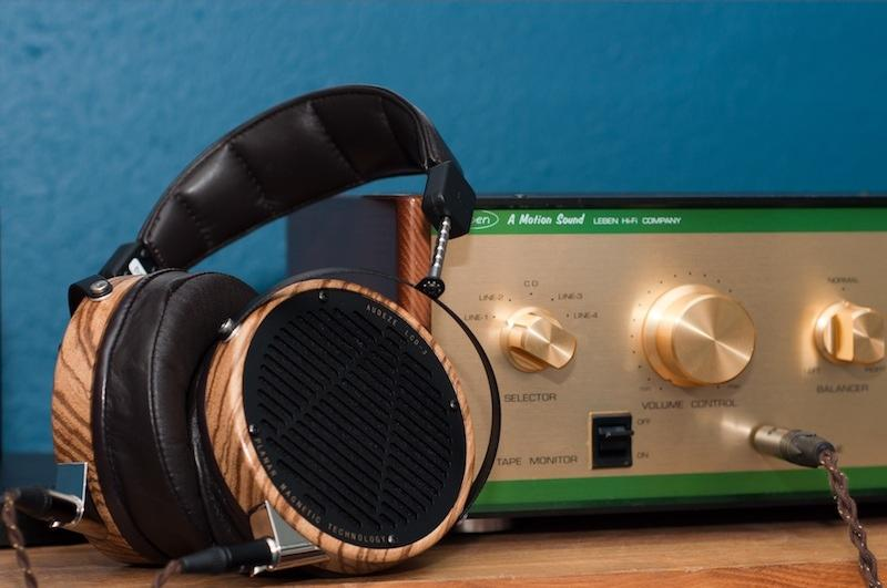 Audeze LCD-3 with Q-Audio cable and Leben CS300XS