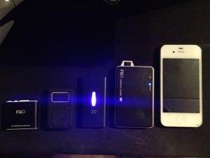 E5 vs. E11 vs. ZO2 vs. Clip+ vs. iPhone 4S