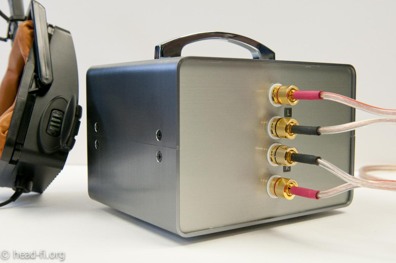 This is the TAKET TR2 transformer box used to drive the H2+. (The TR2 is hooked up to an...