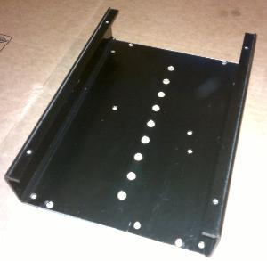 Audio-gd NFB-12. Holes drilled in the bottom of the case, bellow the circuit board. These holes,...