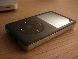 iPod Classic 240GB from eBay front Evening shot