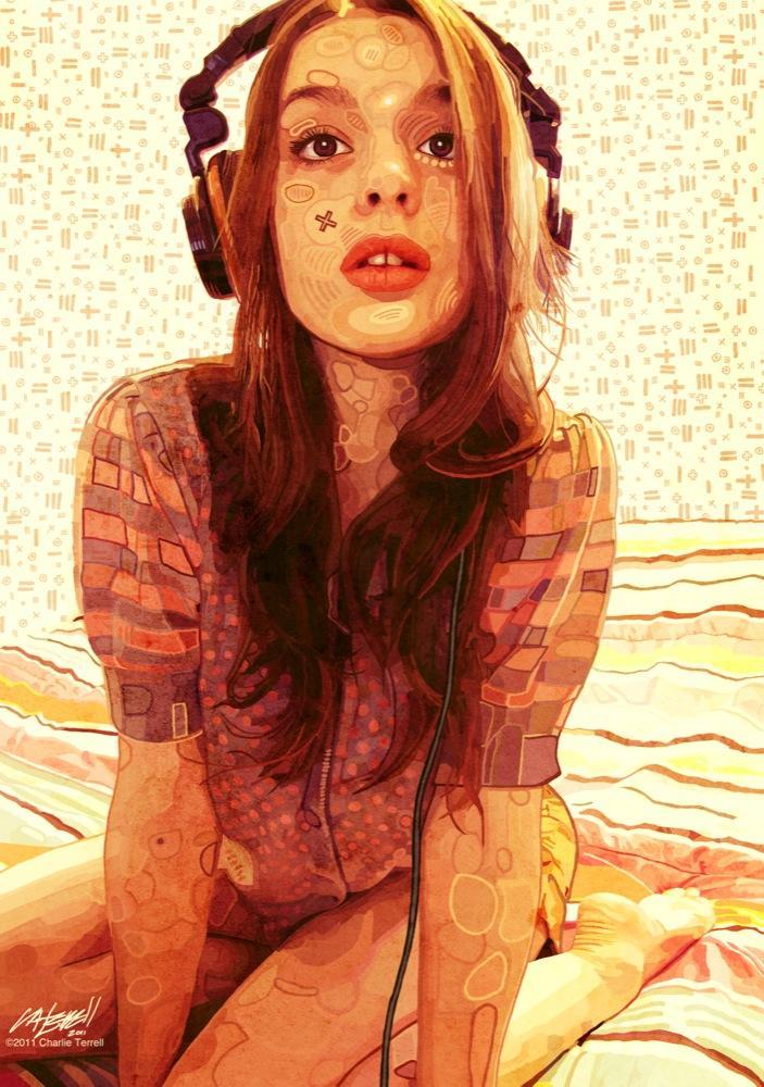 __ziki_in_headphones___by_charlieterrell-d4dqlis.jpg
