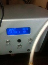 iPhone into Onkyo ND-S1 via Van de Hul TosLink to W4S DAC1 48k