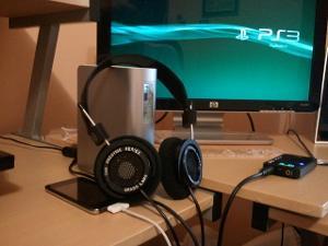 My desktop station.
