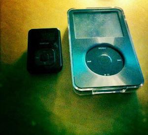 Sansa Clip+ and Ipod 30GB G5