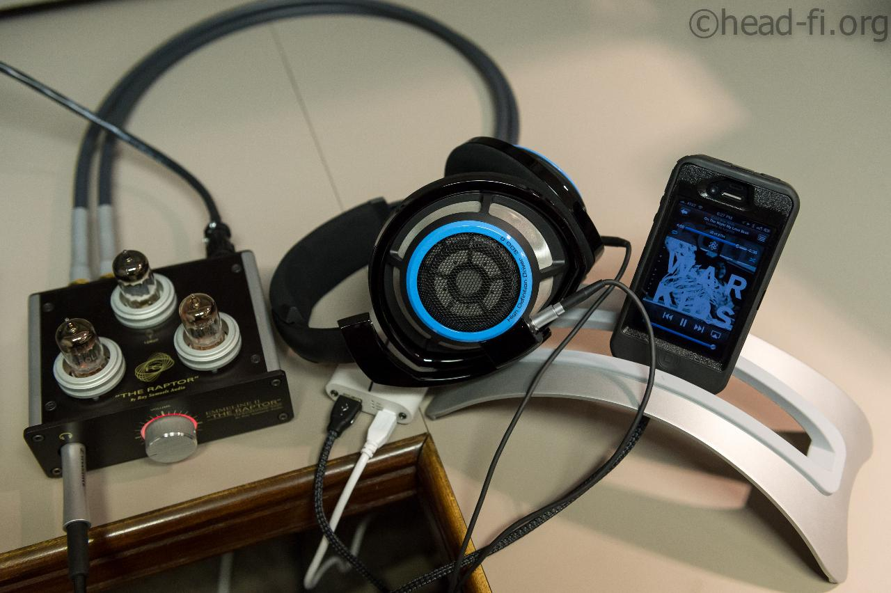This is a limited edition Sennheiser HD 800, in glossy black with Sennheiser-blue accents. The...