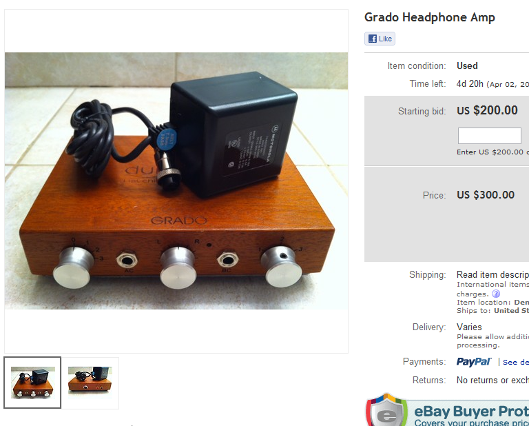 (Thanks Desi!) this would be a:<br /> Grado Labs [Dynamic Listening Systems.inc] RA-10212<br />...