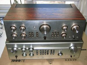 Luxman L-110 & L-85v