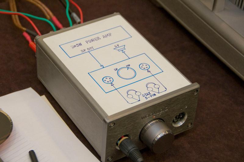 WEE, Woo Audio Electrostatic Energizer