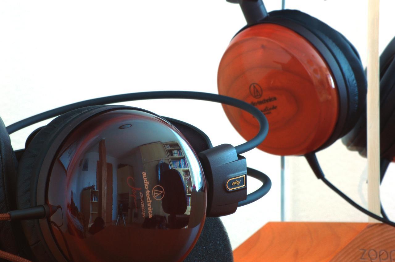 Audio-Technica ATH-W3000ANV + Audio-Technica ATH-W1000X