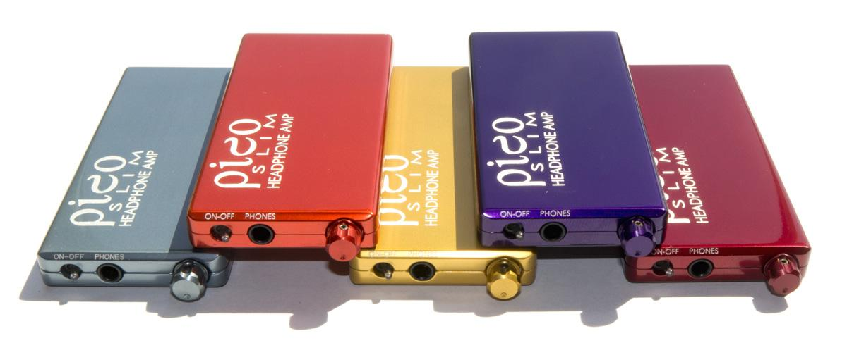Collection of some of the HeadAmp Pico Slim colors