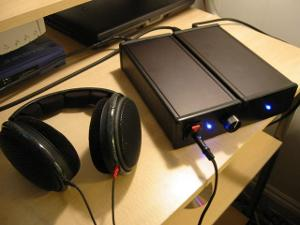 HeadAmp's first product - The Gilmore Dynamic Headphone Amplifier