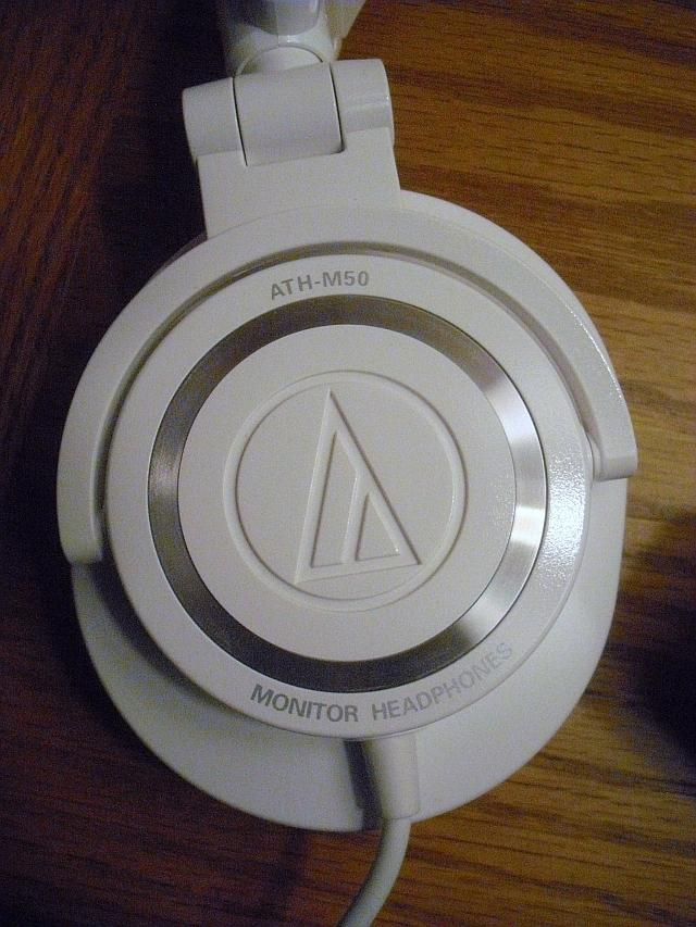 Audio Technica ATH-M50 White