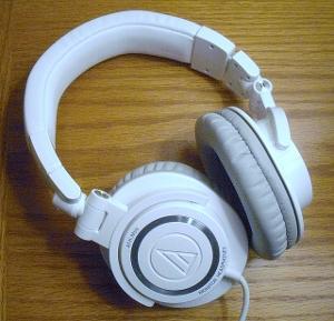 Audio Technica ATH-M50 White