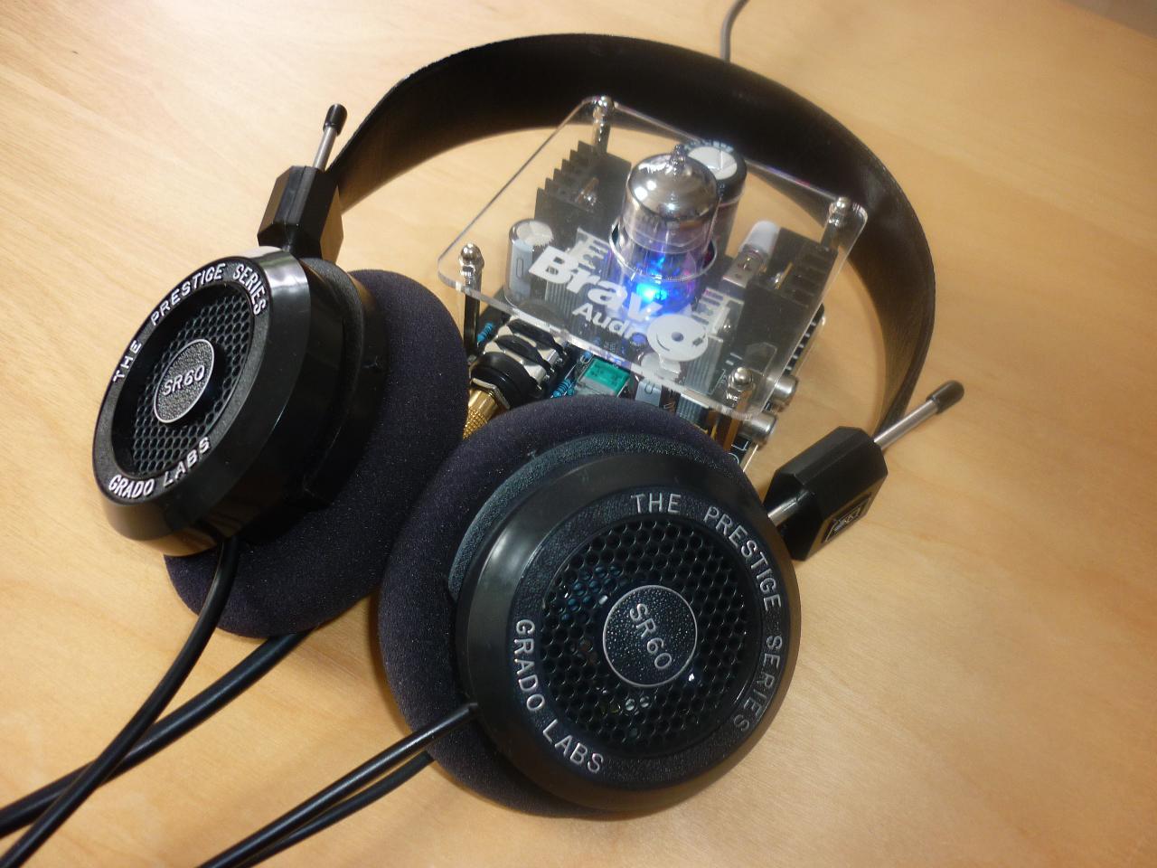 Bravo Amp v2 and Grado SR60i