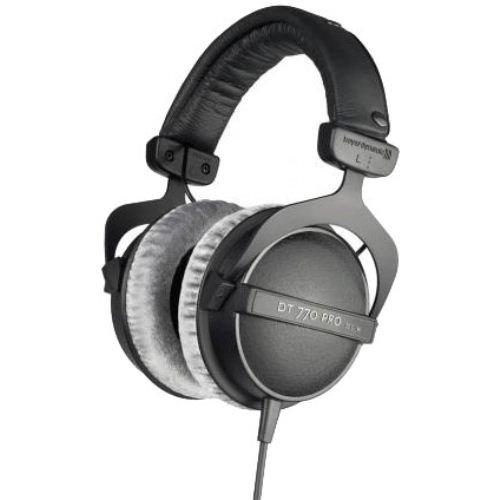 The DT 770 Pro-80 Studio Headphones are closed back, diffuse-field headphones featuring bass...