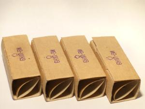 6N1PEV (6H1nBN) Russian NOS Tubes, Gold Grid (6N11 Compatible