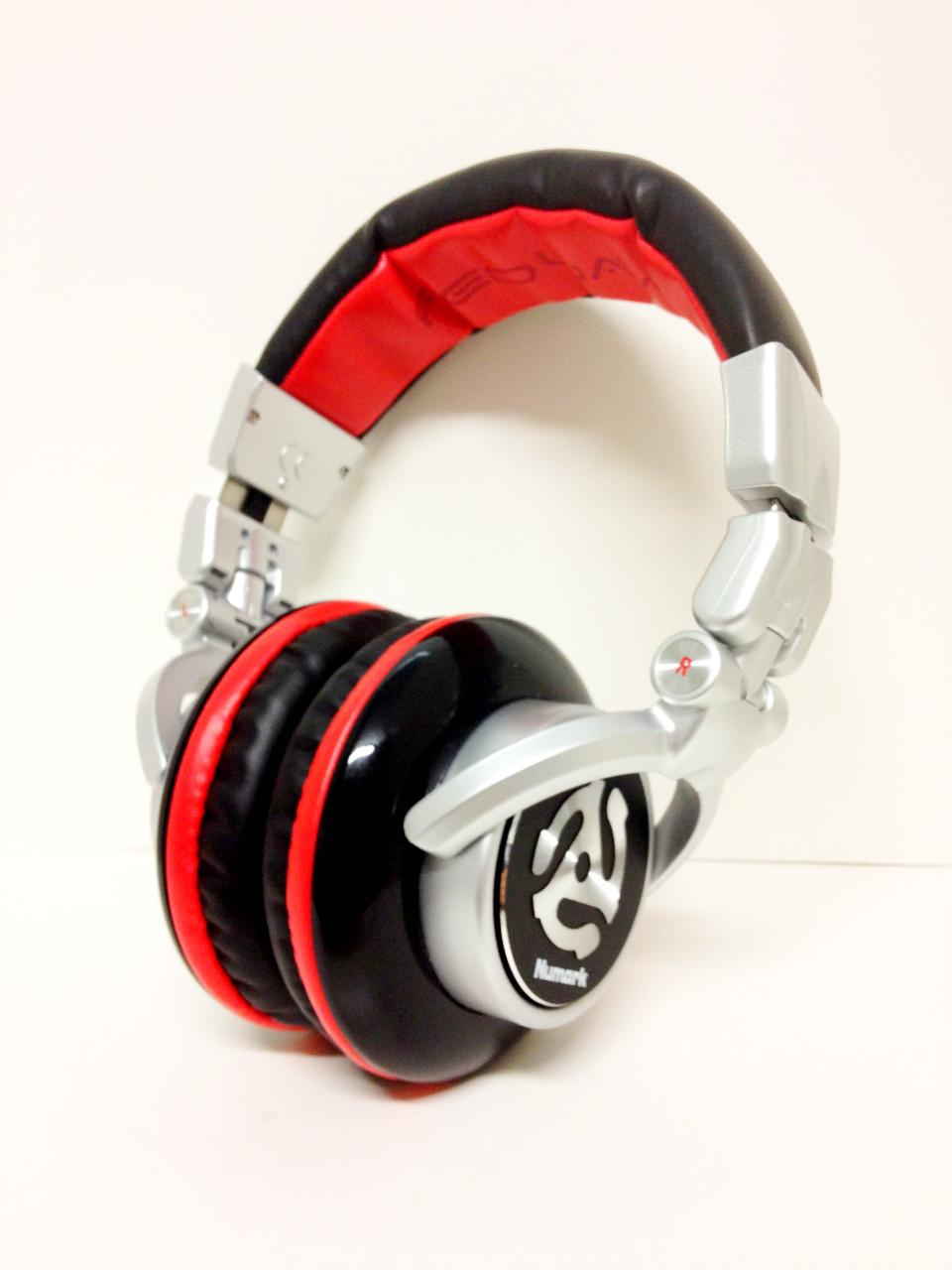 The Red Waves. Bass heavy. Good pair of DJ headphones.