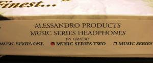 Grado headphones official, not so official paperwork and boxes