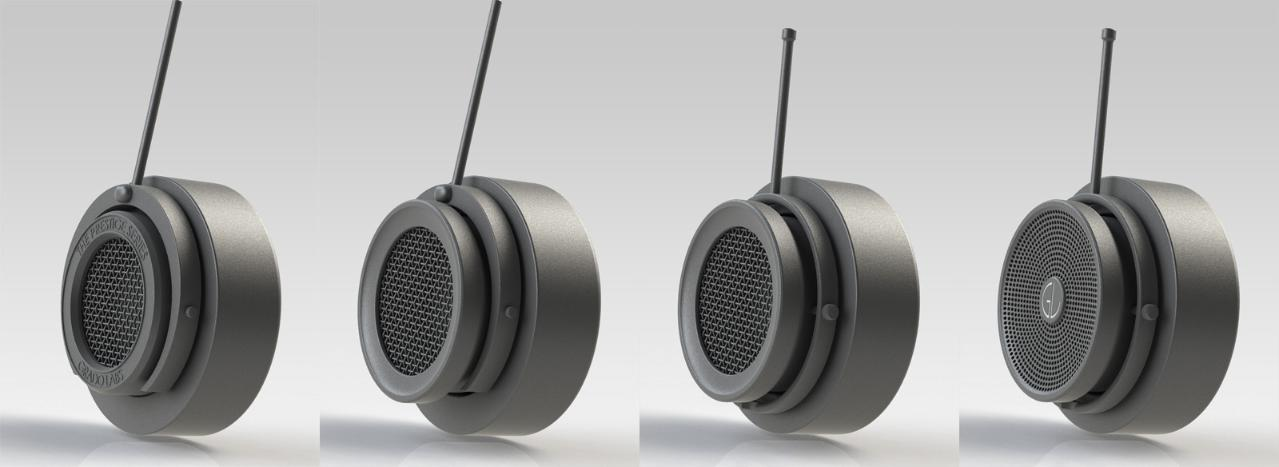 A concept of modernization of the Grado old Prestige Series headphones