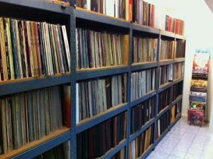 Bigshot's record wall