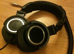 Audio Technica ATH-M50  Date of Purchase: February 2012  Date of Discard: N/A  Usage: Everyday...