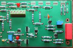 checking 50K resistor is crossed because of flipped feedback error