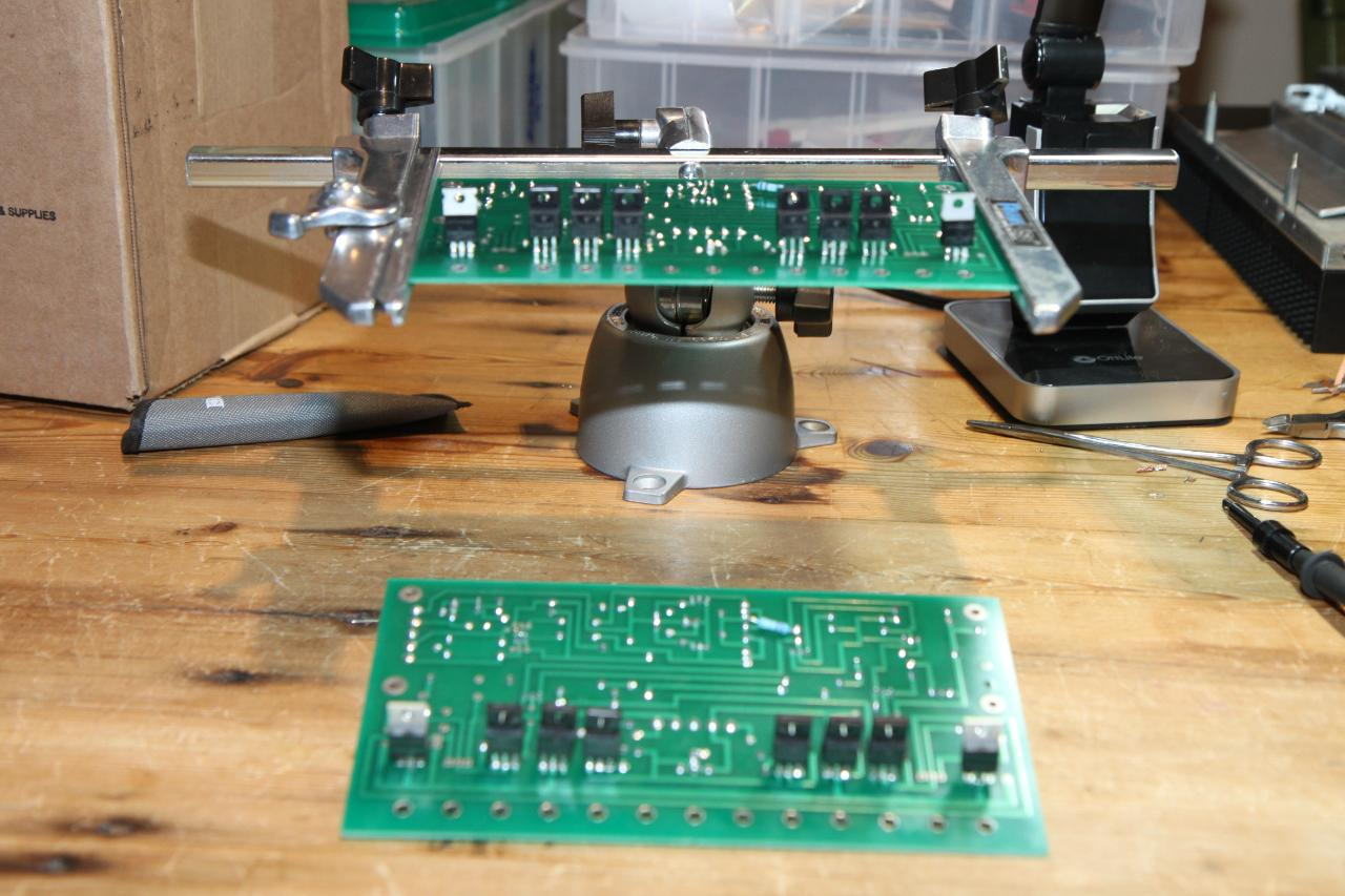 soldering resistors